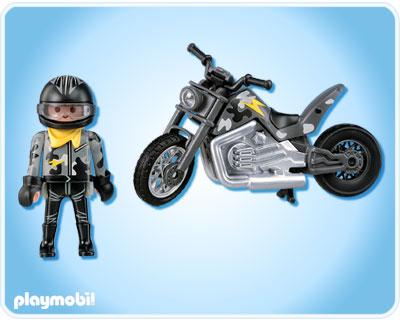Playmobil nijirain - Moto cross playmobil ...