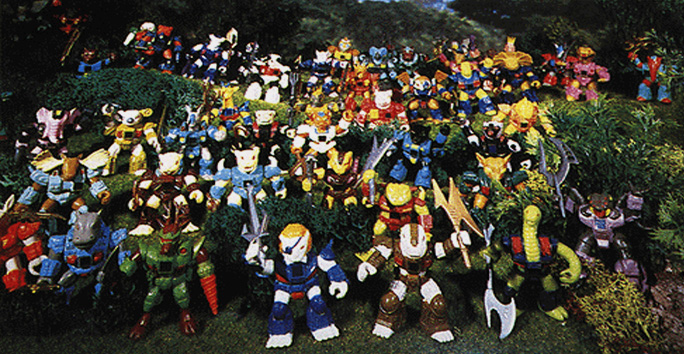 Battle Beasts Toys