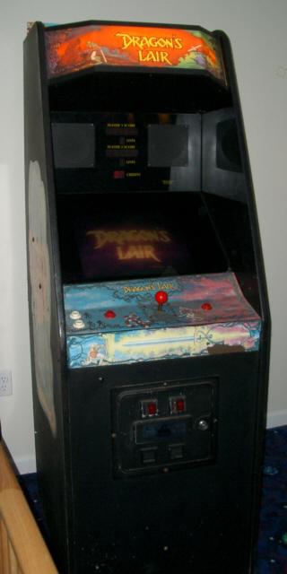 cinematronics dragon s lair circa 1983