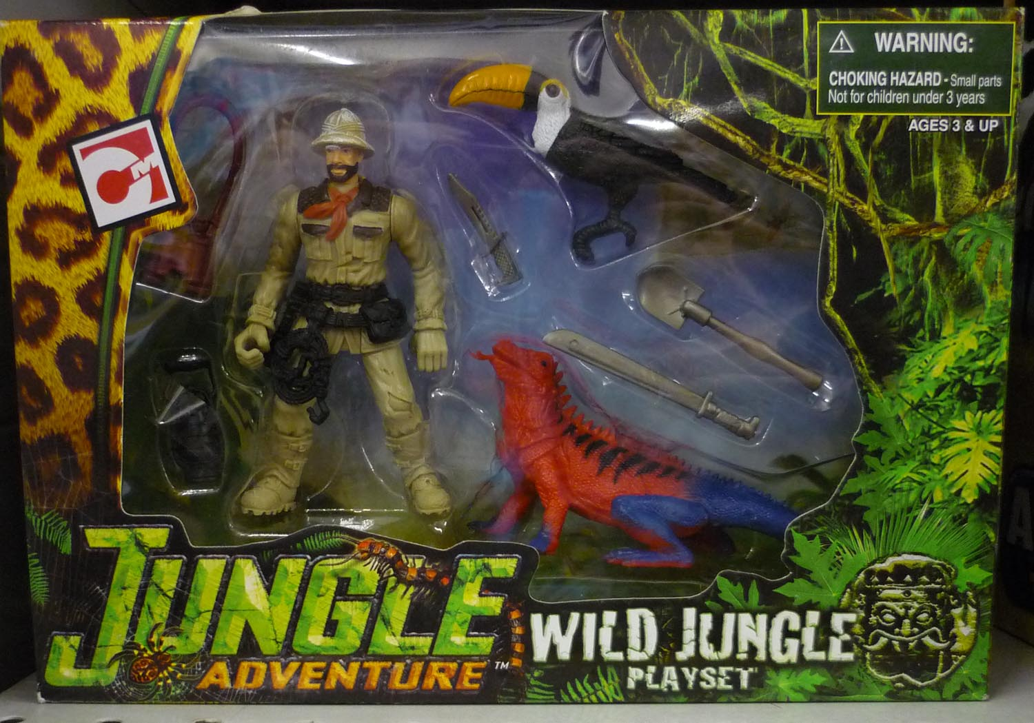 adventure in jungle Product features imaginext adventures in the jungle-it's a new adventure every time you play.