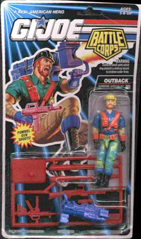 GI Joe arme Cross Country Sac à dos original 1993 Figure accessoire